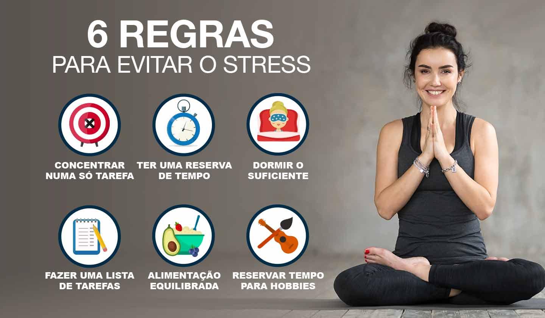6 regras para evitar o stress