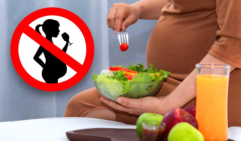 Alimentos e bebidas a evitar durante a gravidez