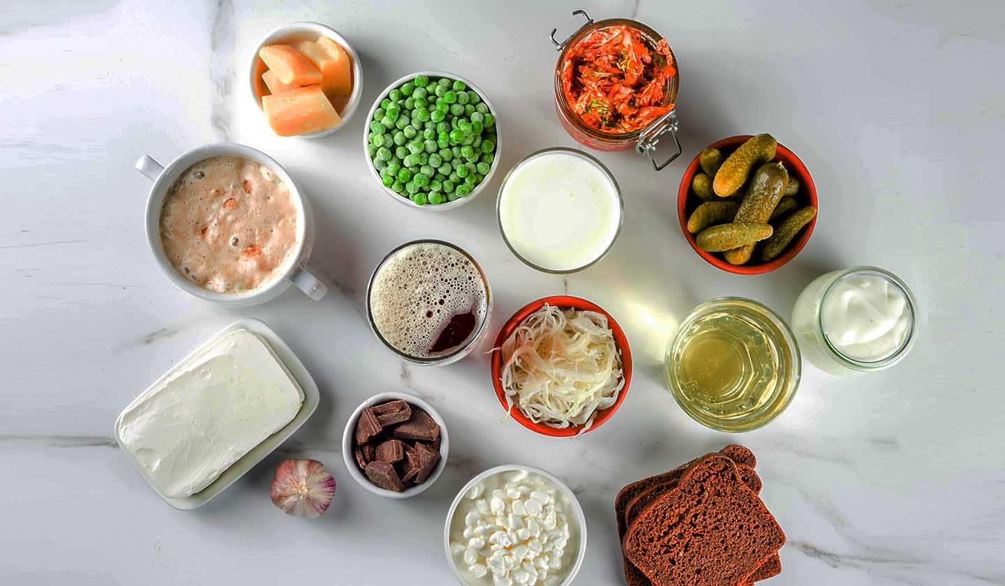Examples of probiotic foods