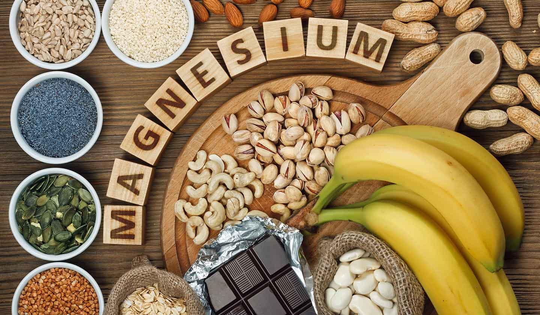 alimentos ricos em magnésio