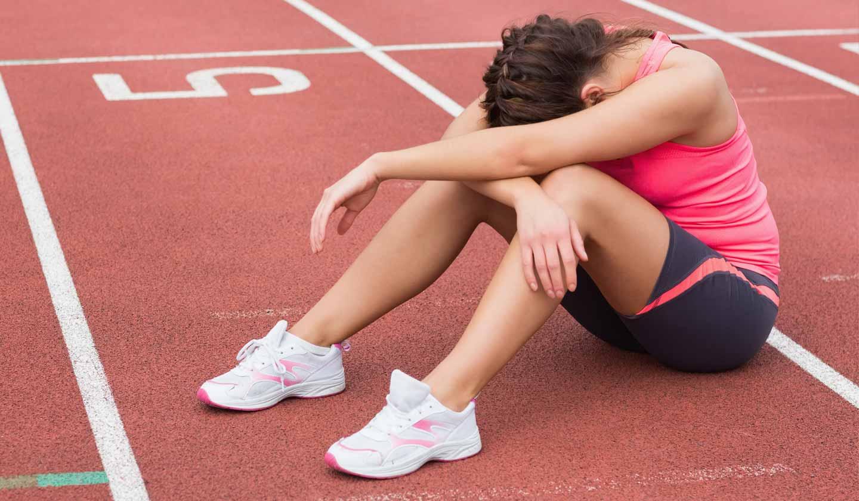 Desportista com maior risco de falta de nutrientes