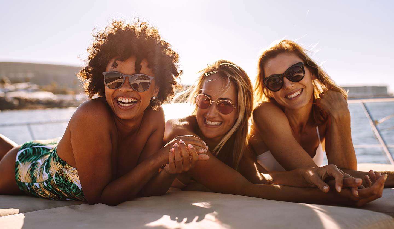 Use óculos de Sol