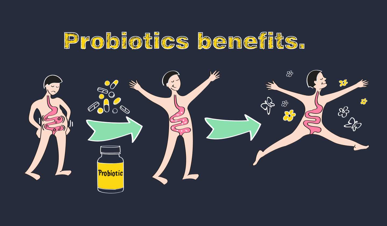 Benefícios dos probióticos